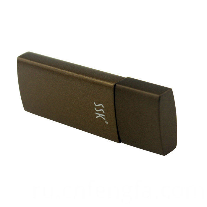 Aluminum alloy USB flash drive shell