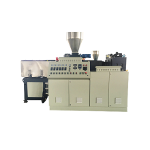 Conical Co-Rotating Twin Screw UHMWPE Extruder