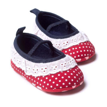 Fashion Lace Soft Sole Moccasins Infant Toddler Baby Loafer