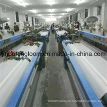 Denim Shuttleless Textile Machinery Weaving Loom Machine à jet d'air Jet