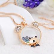 Beautiful High Quality Bear Shape Pendant Necklaces
