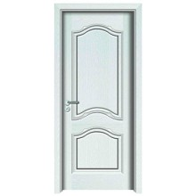 White color wooden door