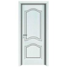 Porta de madeira de cor branca