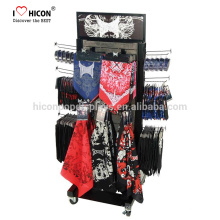 Wooden Freestanding Schal Shop Handschuhe und Socken Display Rack mit unserer Fähigkeit zu fertigen, Herstellung und Logistik Unterstützung