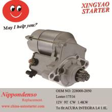Motor de arranque automático para motor