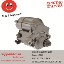 Car Engine Parts Auto Starter Motor for Sale