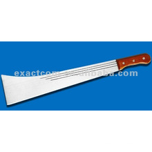 Matchet 18'' with plastic riveted handle
