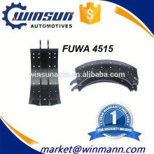 Zapato de freno Fuwa Type Truck 4515 de la venta caliente