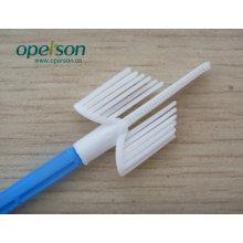 Одноразовая зубная щетка с различными типами