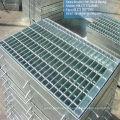 Acero galvanizado, cubierta del foso de rejilla para drenaje