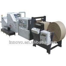 ZD-300 Ajustável rolo de alimentação de papel de fundo quadrado inferior fazendo a máquina
