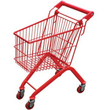 Kids shopping trolley/Children Favorite Mini Grocery Shopping Cart With Flag