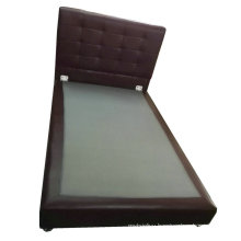 Modern Leather Bed, Simple Bed (6027)