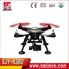 Wltoys Professional Drones Multicopter XK X380 FPV with Gimbal GPS 2.4G RC helicopter Quad copter RTF