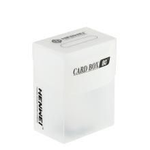 Tarjetas de capacidad de plástico de 80 piezas que protegen la caja de tarjetas