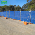 Used+Galvanized+Temporary+portable+wire+mesh+fence
