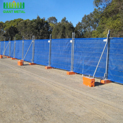 Used Galvanized Temporary portable wire mesh fence