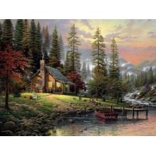 Handmade R. Thomas reprodução da pintura a óleo da China