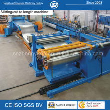 Automatic Leveling Slitting and Rewinding Line