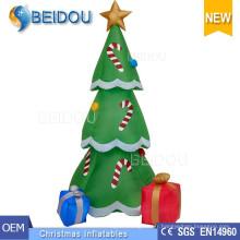 Vente en gros d'arbres de Noël Eclairage Arbre de Noël gonflable géant blanc