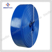 Heavy duty agriculture pvc layflat water irrigation hose