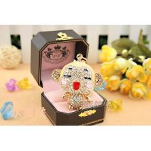Cute monkey Chinese zodiac monkey Crystal full rhinestone Keychain lovely gift handbag hanger new