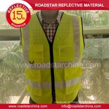 segurança da estrada vestuário colete reflector de segurança barato
