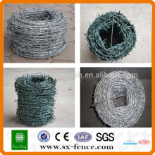 ISO9001 14*14 Electro Galvanized or Hot Dipped Galvanized Barbed Wire price