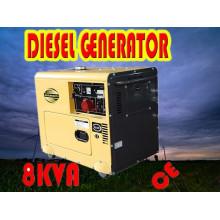 Генератор 8кВА! ! ! Китай Портативный небольшой 6 кВт генератор дизель Цена продажи (CE, BV, ISO9001)