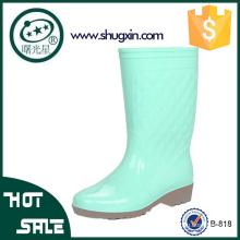 Damen Regen Schuhe koreanische Gummi wasserdichte Schuhe