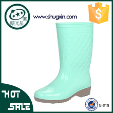 Mesdames chaussures de pluie en caoutchouc coréen chaussures imperméables