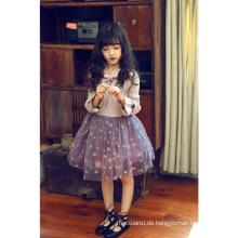 2018 Winter neue Design koreanische Kinder Kleider Herbst Vietnam Mädchen Party Kleider ein Stück 6 Jahre altes Mädchen Fee Kleid