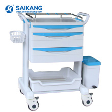 SKR-ET223 Mobile Hospital ABS Medical Plastic Drugs Trolley
