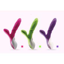 Produit de sexe de vibrateurs de silicone de vagin pour la femme Injo-Zd125