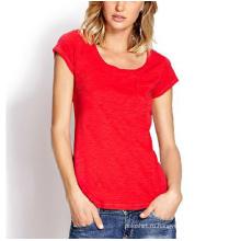 Хлопок Xxxl Sex Новая модель T рубашка для женщин