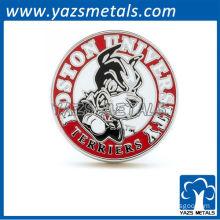 Custom University logo cufflinks