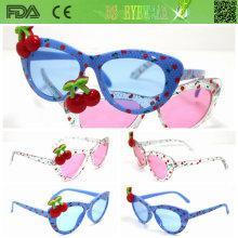 Sipmle, estilo de moda gafas de sol para niños (ks021)