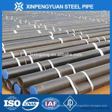 Liaocheng промышленная зона поставка высококачественная углеродистая сталь бесшовная труба
