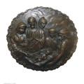 Relief en laiton Statue Jésus Relievo Decor Bronze Sculpture Tpy-917