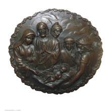 Relief Messing Statue Jesus Relievo Dekor Bronze Skulptur Tpy-917
