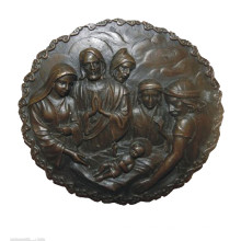 Relief Brass Statue Jesus Relievo Decor Bronze Sculpture Tpy-917