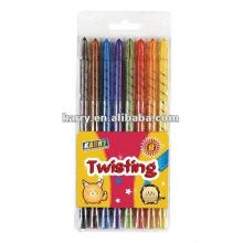 tordre crayons de couleur TWISTANT CRAYONS
