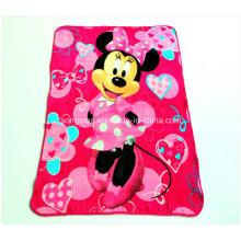 Custom Printed Coral Fleece Blanket with Design