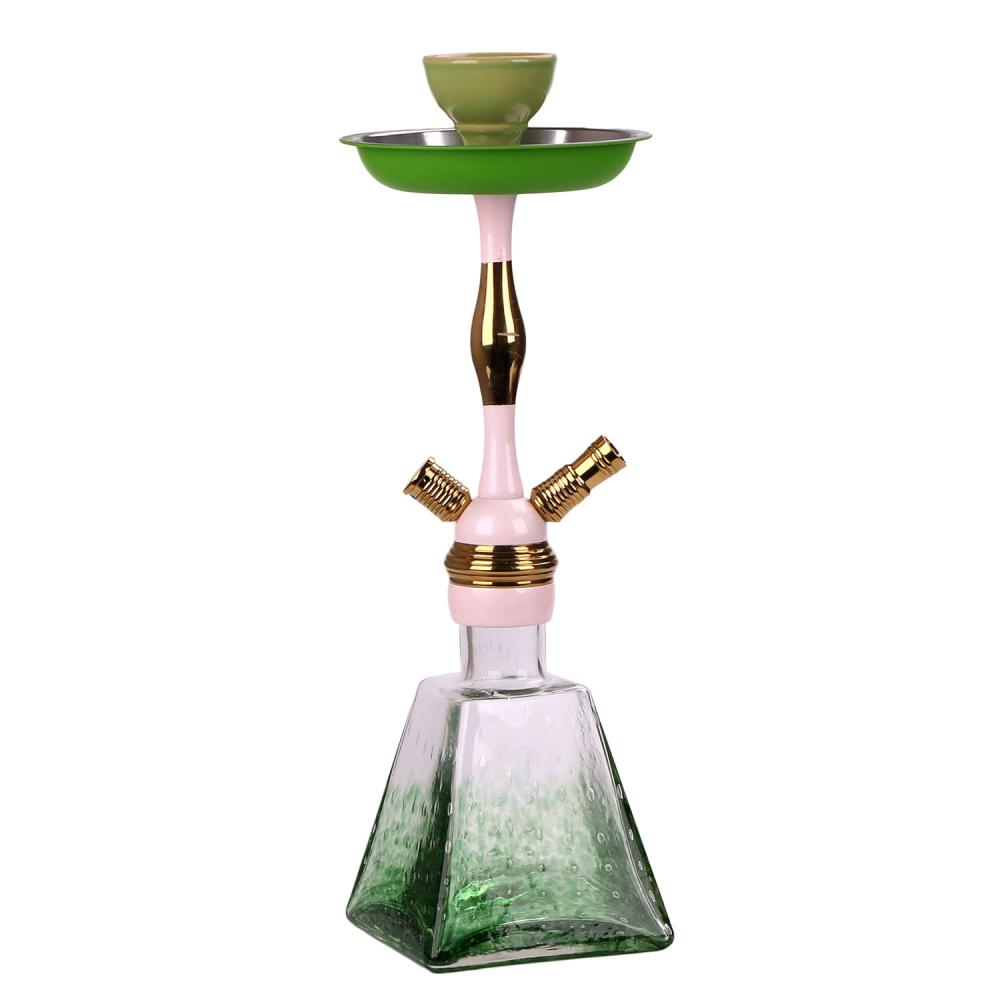 Elegant High-Grade Shisha With Contrast Color Stem