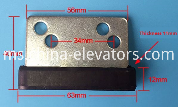 Door Gib | Door Slider | Door Shoe for Mitsubishi Elevators