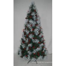 Realist Künstlicher Weihnachtsbaum mit String Licht Multi Farbe LED Dekoration (7SXA)