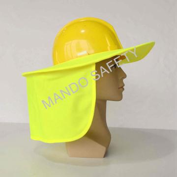 Hi-Viz Sun Brim usado no capacete