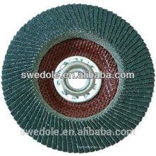 discos de aleta de lijado de zirconia para la eliminación de pintura