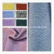 100% poliéster lana fina tela de lana de tela para el abrigo de invierno