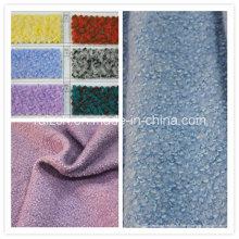 100% Polyester Tissu en laine fine en laine pour manteau d'hiver